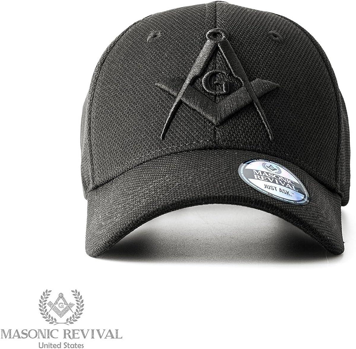 Noche Cap Square and Compass Masonic Hat