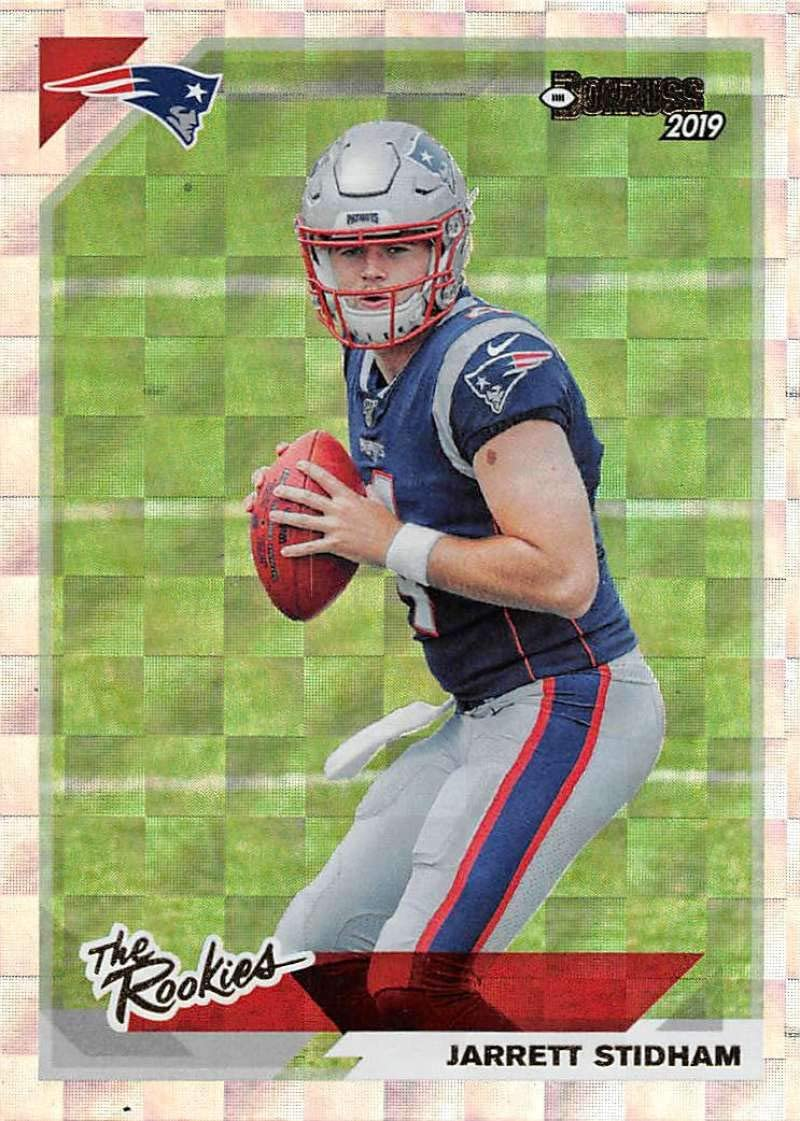 Amazon Com 2019 Donruss The Rookies 7 Jarrett Stidham New England Patriots Football Card Collectibles Fine Art