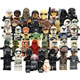 Star Wars: The Force Awakens Figures Pack of 37 Blocks Toys (Plastic) Compatible with Lego