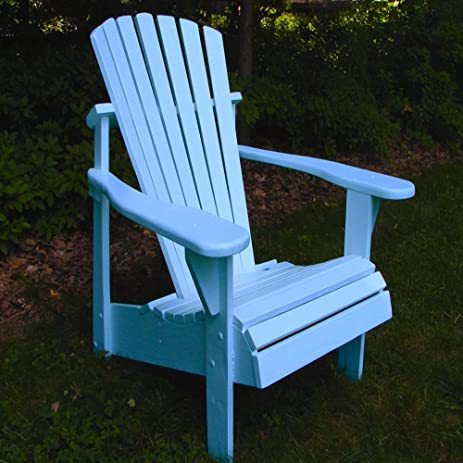 Weathercraft Aqua Classic Adirondack Chair