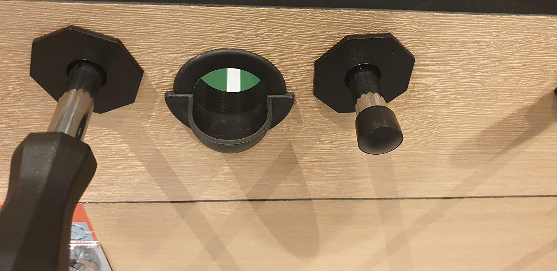 Pro – Mesa de futbolín Coin con ranura para monedas 140 x 73 cm Grande, 80 kg difícil: Amazon.es: Deportes y aire libre