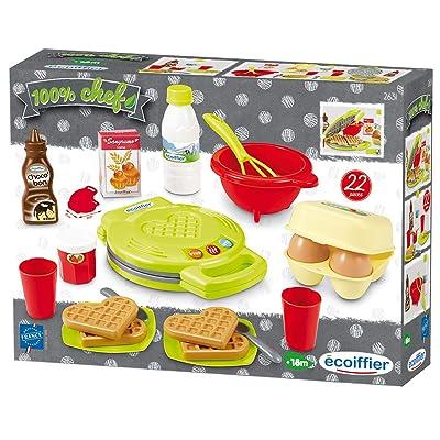 Ecoiffier 7600002631 Waffle Baking Set: Toys & Games