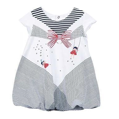 4eb37174fbe25 Catimini - Robe - Boule Bébé fille - blanc -  Amazon.fr  Vêtements ...