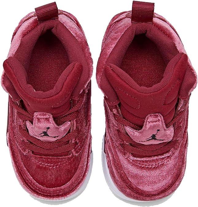 Nike Air Jordan Spizike TD Kids Noble RedBlackWhite CJ7216
