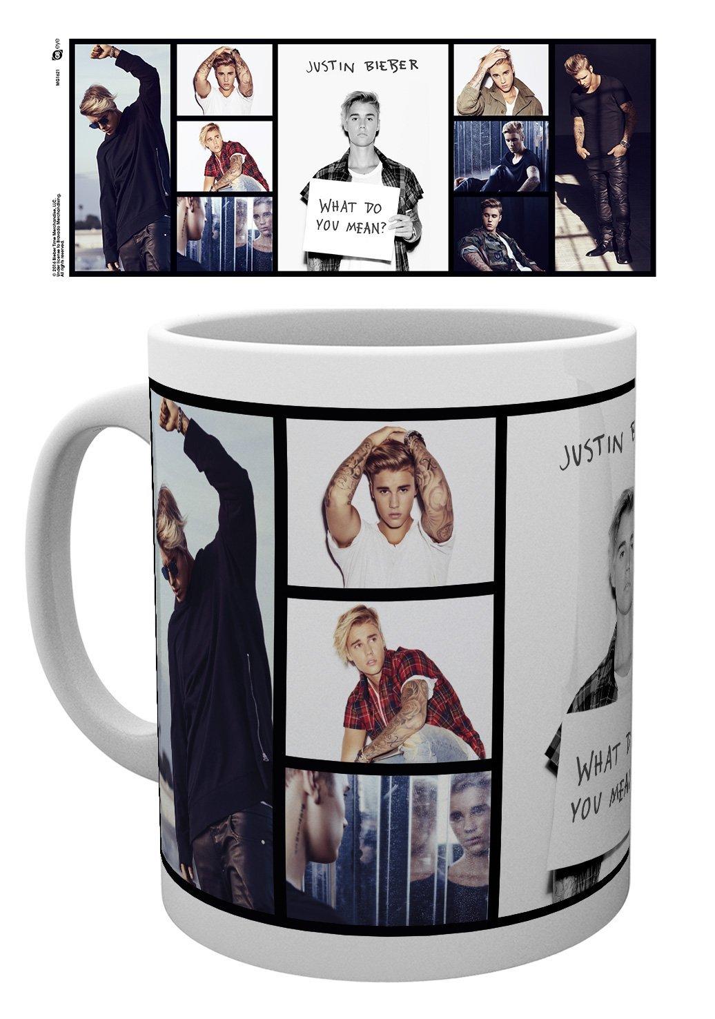 GB Eye LTD, Justin Bieber, Grid, Taza de Ceramica: Amazon.es: Hogar