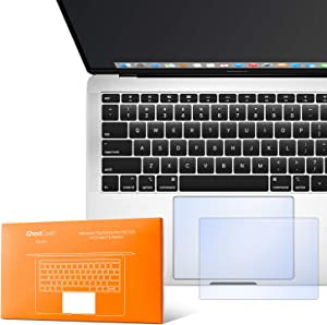 """UPPERCASE GhostCover Touch Premium Trackpad Protector with Matte Finish (Retina MacBook Air 13"""" (2018 2019), Matte Clear A1932)"""