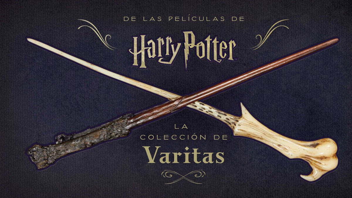 Harry Potter La Coleccion De Varitas Amazon Es Peterson Monique Libros
