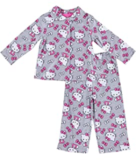6023725b0 Sanrio Girls Hello Kitty Pajamas - 2-Piece Long Sleeve Pajama Set