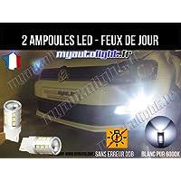 Pack feux de jour à led blanc xenon - Volkswagen Polo 5 6C