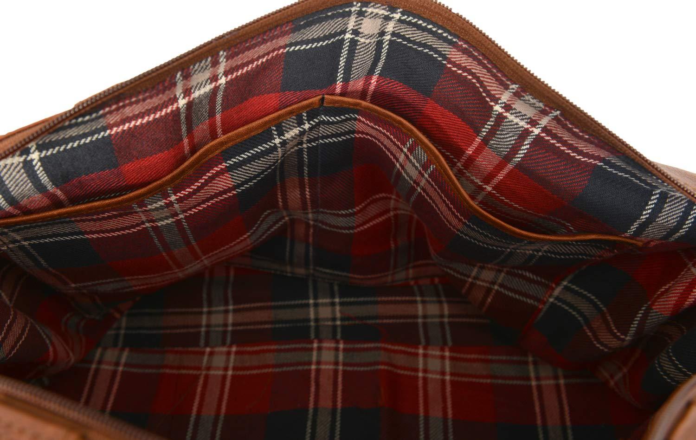 Rowallan Medium Soft Tan Leather Holdall Travel Bag 1549 RRP /£129.99 Our Price /£89.99