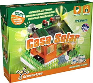 Science4you Casa solar - Juguete científico y educativo