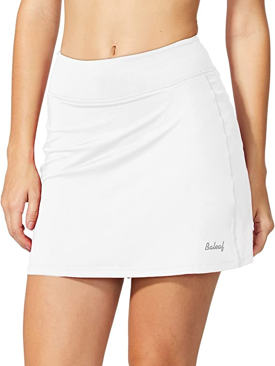 BALEAF falda deportiva ligera con bolsillos para correr, tenis y ...