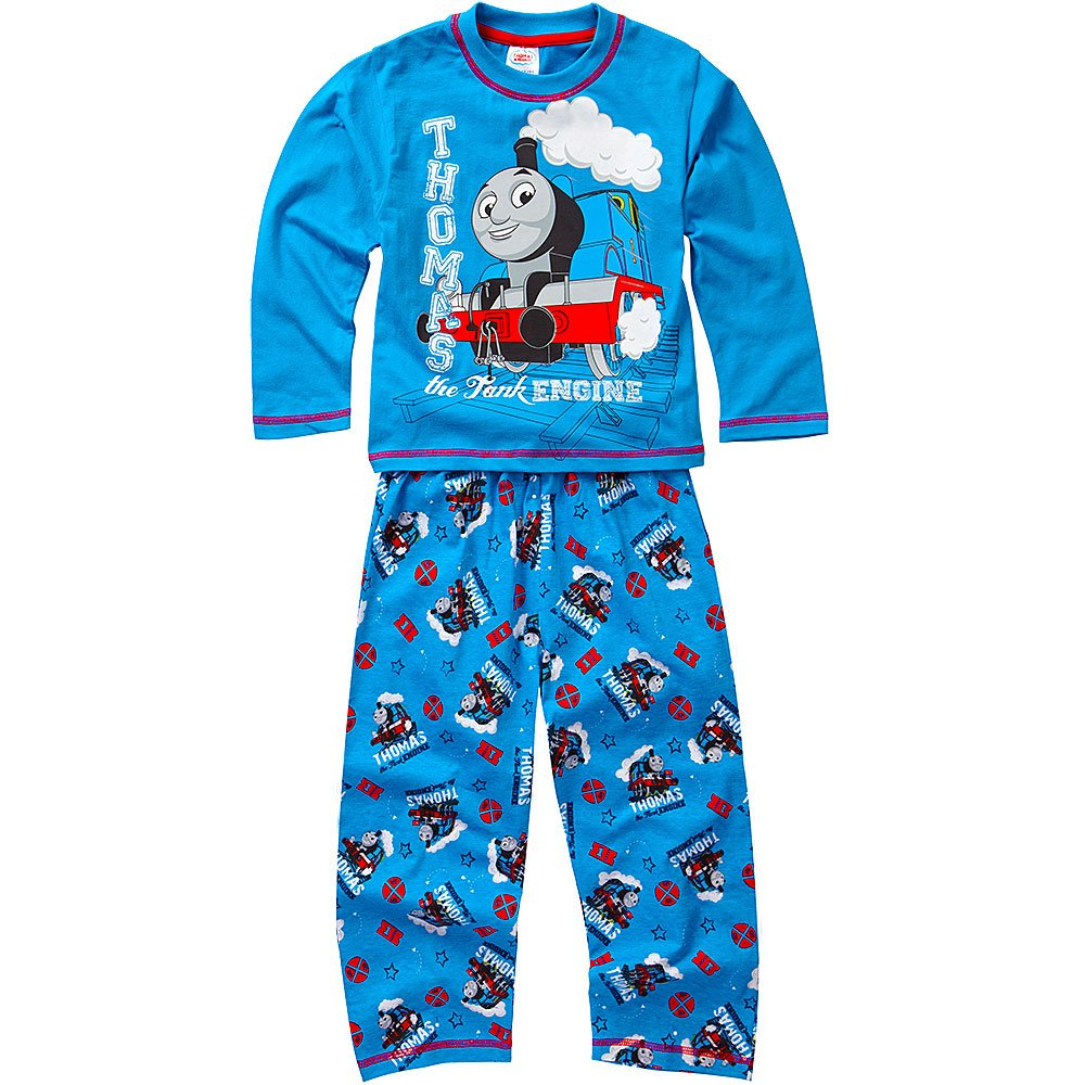 Thomas and Friends Boys Long Sleeve All Over Print Pyjamas