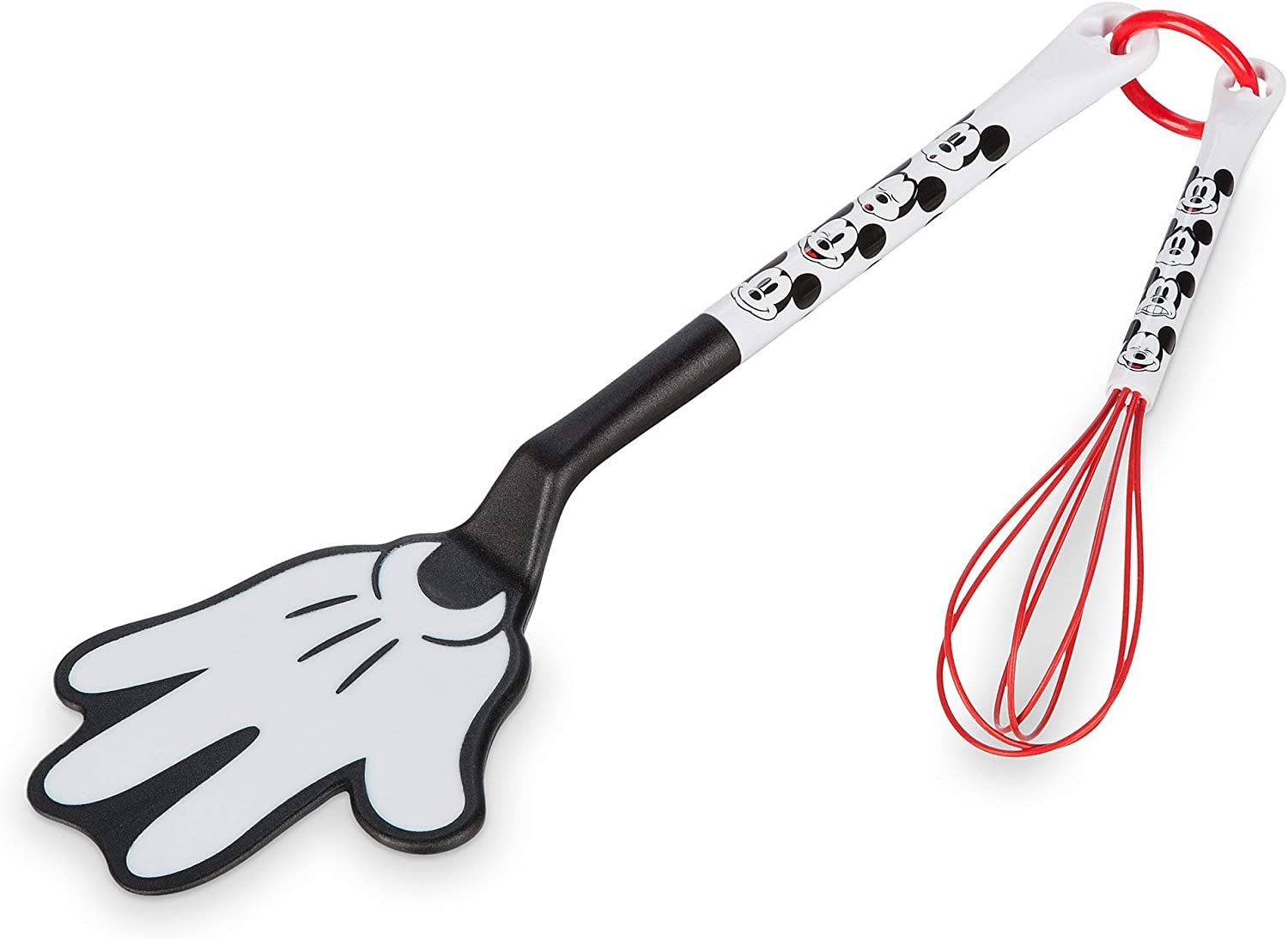 NEW DISNEY EATS MICKEY MOUSE SPATULA AND WHISK SET