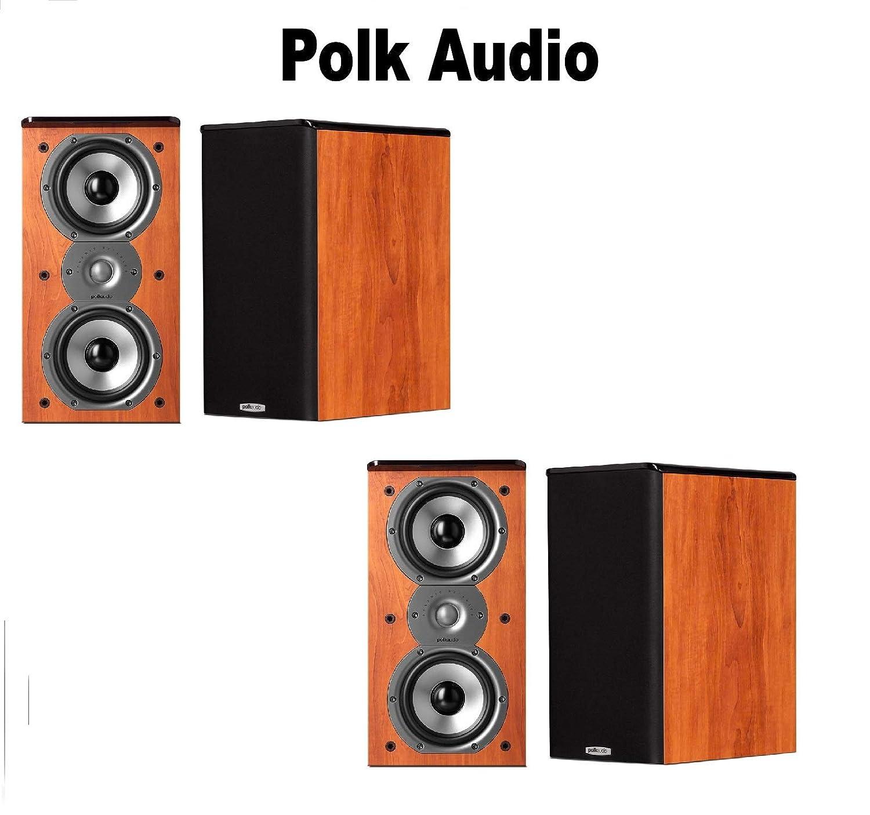 大注目 Polk Audio Audio バンドル TSi200 本棚スピーカー (2組) TSi200 (ペア、チェリー) バンドル B07H39DHX2, キュアマート:9cfe6211 --- nicolasalvioli.com