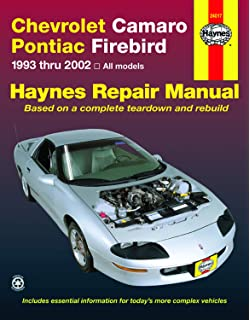 GM Camaro and Firebird, 1993-2002 (Haynes Repair Manuals ... on