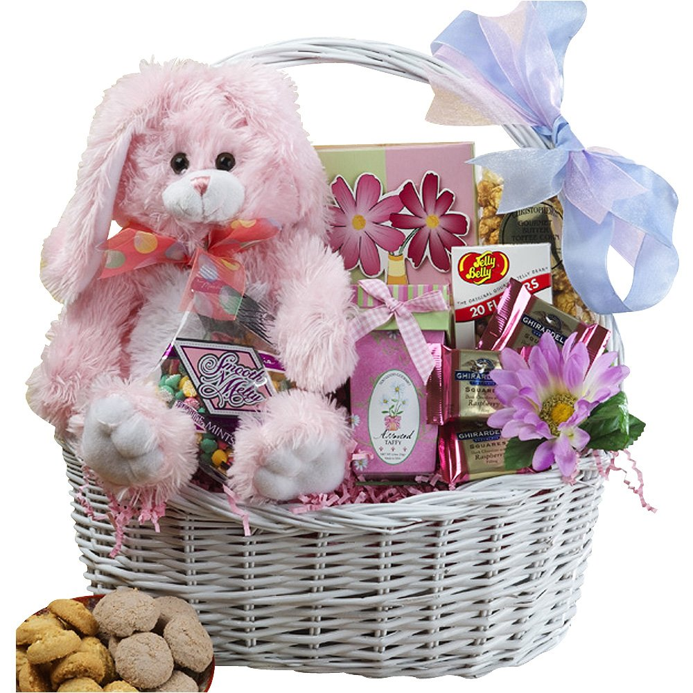 Amazon my special bunny easter gift basket with pink plush amazon my special bunny easter gift basket with pink plush bunny rabbit gourmet candy gifts grocery gourmet food negle Images