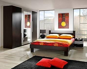 Dreams4home Schlafzimmer Set Mona Kleiderschrank Schrank 2