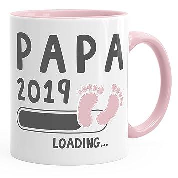 Moonworks Kaffee Tasse Papa 2019 Loading Geschenk Tasse Fur