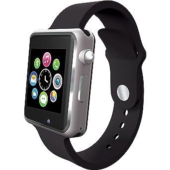 Slide SLISW300BK Smart Watch/Phone 1.54IN Bluetooth Black with builtin 2G Quad Band GSM Phone