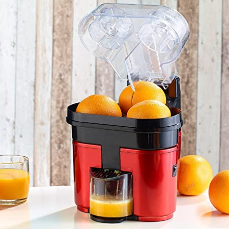 Citro Twin - Turbo Extractor Exprimidor de Naranja doble cabezal -Zumos: Amazon.es: Hogar