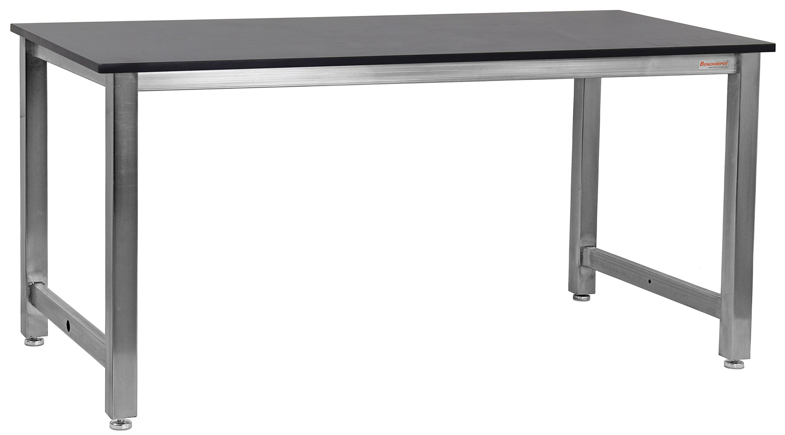 BenchPro KSZ3030 Kennedy Workbench with Stainless Steel Frame and 3/4'' Thick Phenolic Resin Top