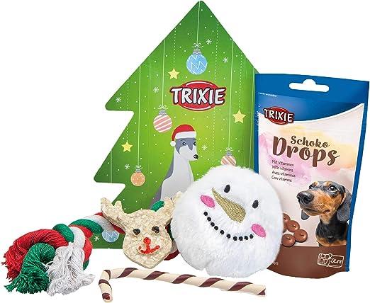 Trixie 9265 Cajita Navideña Regalo para Perros, 5 Artículos: Amazon.es: Productos para mascotas