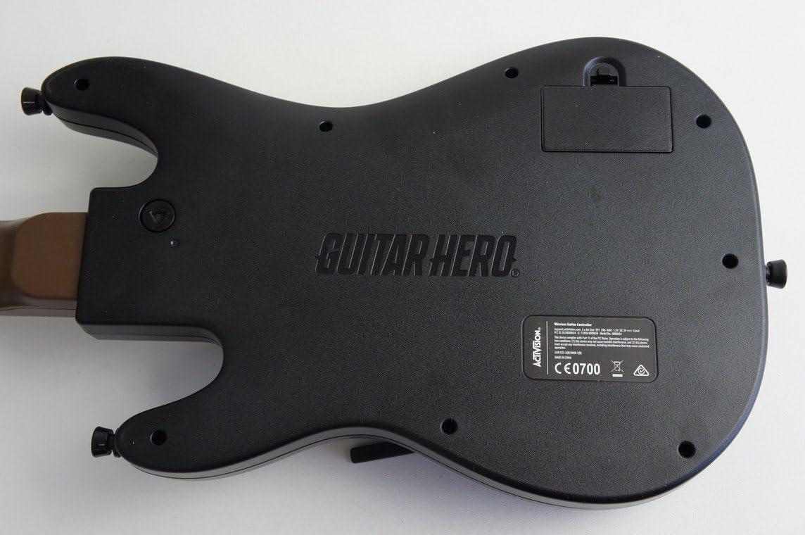 Guitar Hero 0000654 - Controlador de guitarra inalámbrica para PS3 ...
