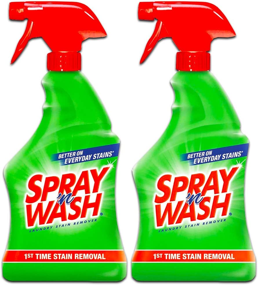 Resolve Spray 'n Wash Laundry Stain Remover 22 Ounce, (Pack of 2)