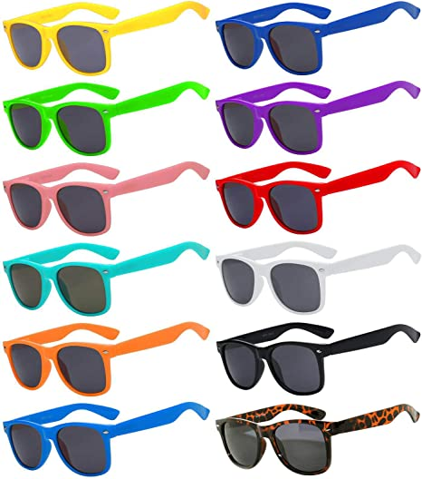 SUNGLASSES RETRO FASHION COLOURED FRAMED SUNGLASSES WITH FREE PROTECTIVE POUCH