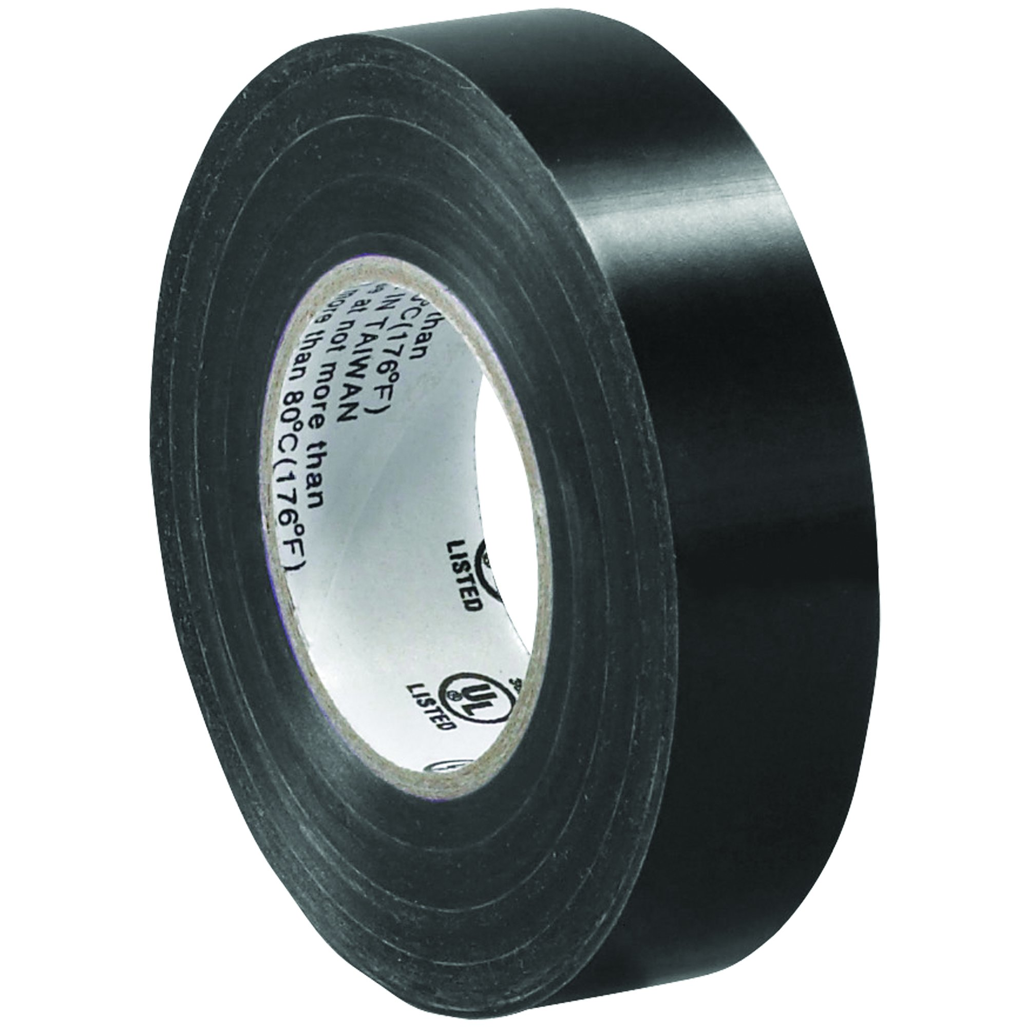 BOX BT96461810PK Black Electrical Tape, 20 yd. Length, 3/4'' (Pack of 10) by Box