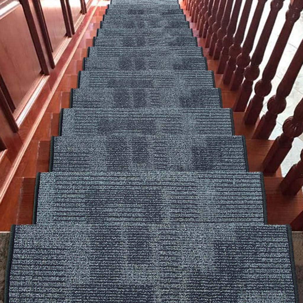World-ditan Pedal de la Alfombra de la Escalera - Pedal de la Escalera, la Alfombra de la casa, la Hebilla mágica no se desliza (Color : A(5pcs), Tamaño : 75 * 24 *