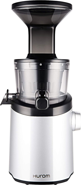 Hurom H101 Easy Clean Slow Juicer, Matte Silver (Renewed)