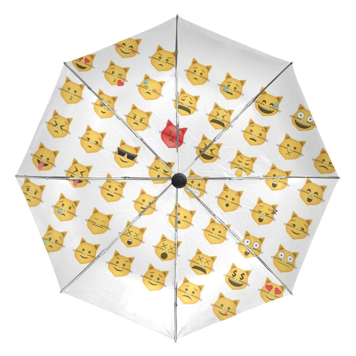 a36f212711df delicate BAIHUISHOP Set Of Cat Emoticon Emoji Windproof Rain ...