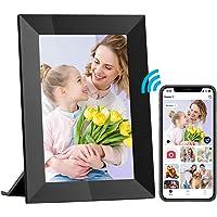 Hyjoy Digitale fotolijst, wifi, digitale fotolijst met IPS-touchscreen, HD-display, 8 GB geheugen, eenvoudig in te…