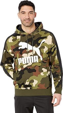 PUMA Mens Wild Pack Hoodie AOP TR