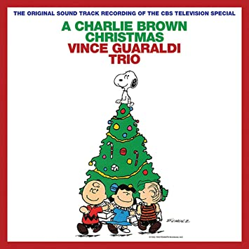 Image result for charlie brown christmas album cover