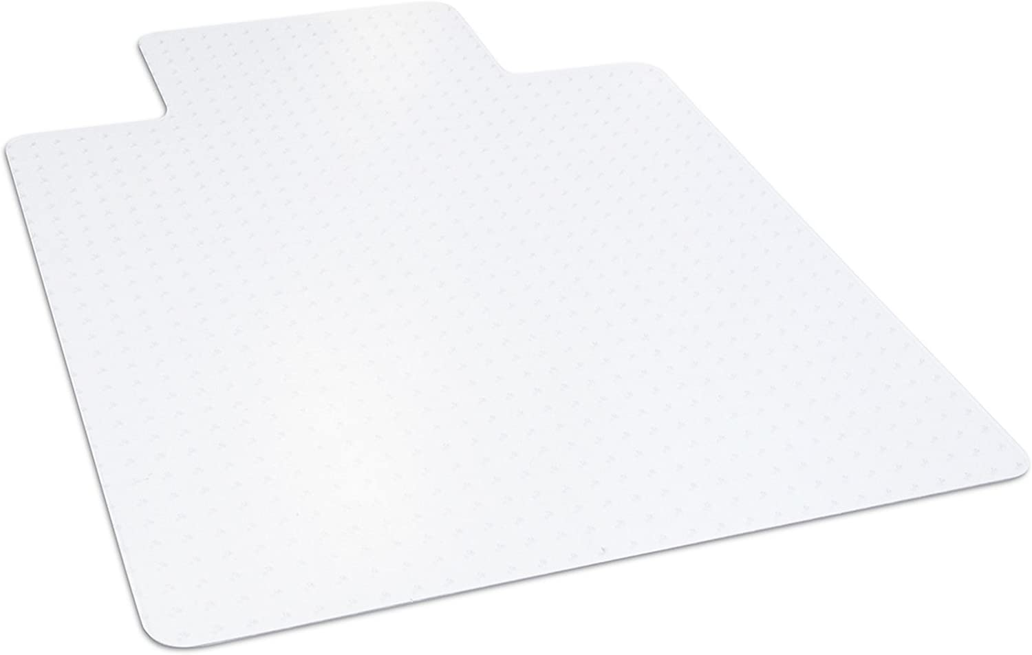 Dimex 36 x 48 Clear Office Chair Mat with Lip for Low and Medium Pile Carpet, Made in The USA, BPA and Phthalate Free, C511001J