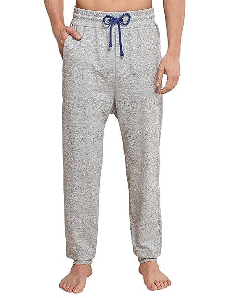 Schiesser Uncover by joggpants, Parte Inferior del Pijama para Hombre, Gris (Grau-