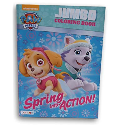 Bendon Publishing International Paw Patrol Spring into Action Coloring and Activity Book - 96 Pages: Toys & Games