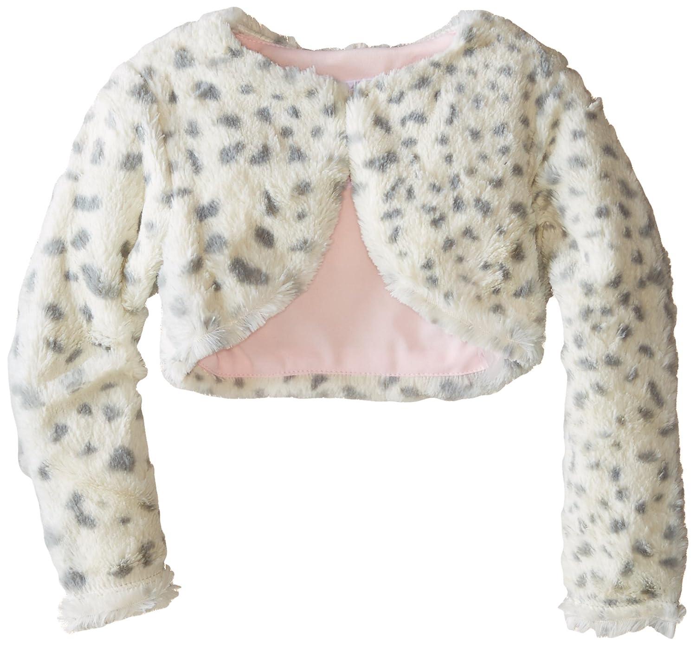 Bonnie Jean Little Girls' Skin Printed Faux Fur Jacket Bonnie Jean Girls 2-6x 882
