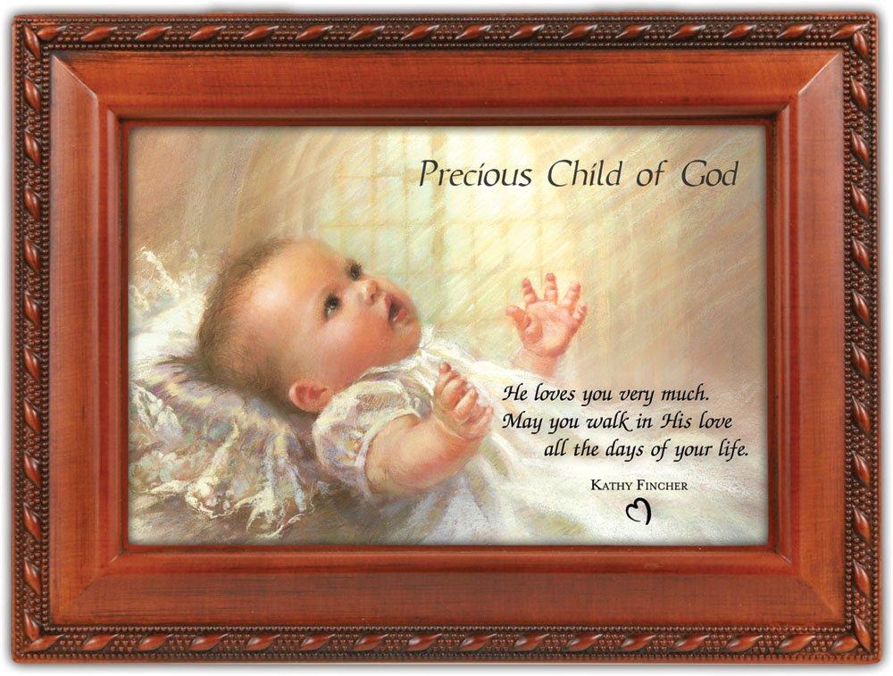 【即発送可能】 Cottage Cottage Garden Precious Cottage Child Of God Woodgrain Garden Music Box/ Jewelry Box Plays Jesus Loves Me by Cottage Garden B00BRX94H4, オオサチョウ:e74a32c2 --- arcego.dominiotemporario.com