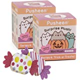 Pusheen Blind Box #4 Halloween Surprise Plush | 2 pack BlindBox with Candy Notepads |