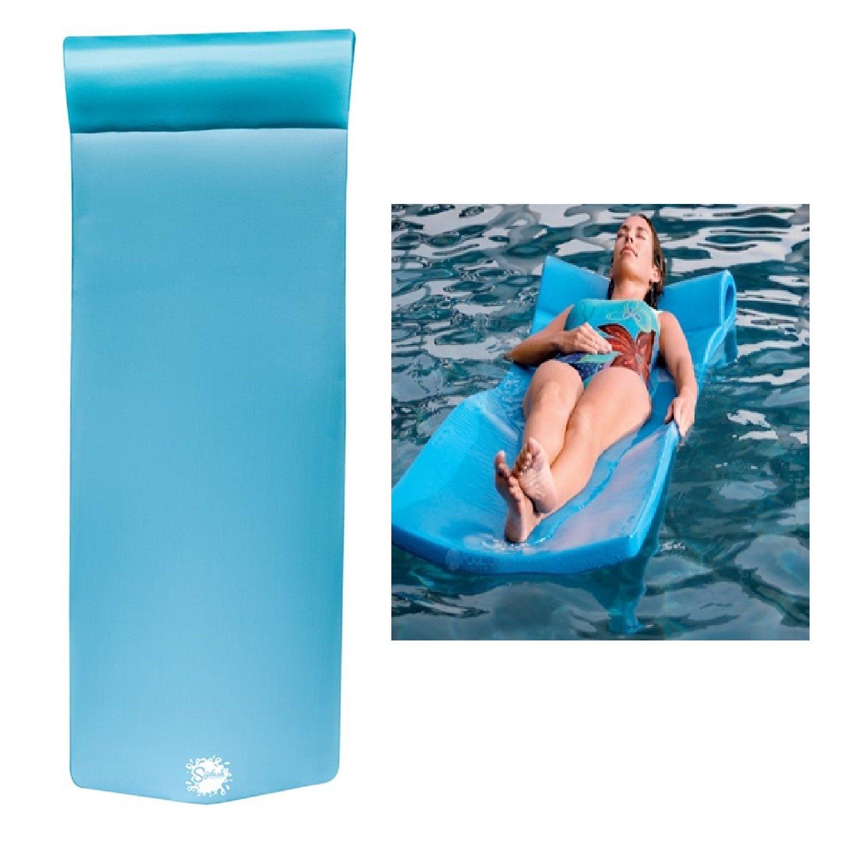 Texas Recreation Splash Pool Float with headrest. by Texas Recreation