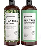 GoodMood Tea Tree Shampoo and Conditioner Set, Mint Shampoo enriched with Protein, Collagen & Silk, Treatment For Men and Wom