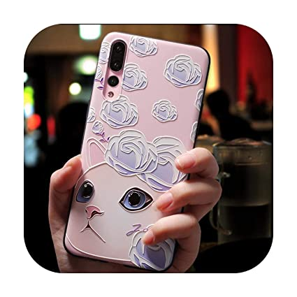 Amazon.com: Soft 3D Emboss Cases for Huawei P20 P10 P9 P8 ...