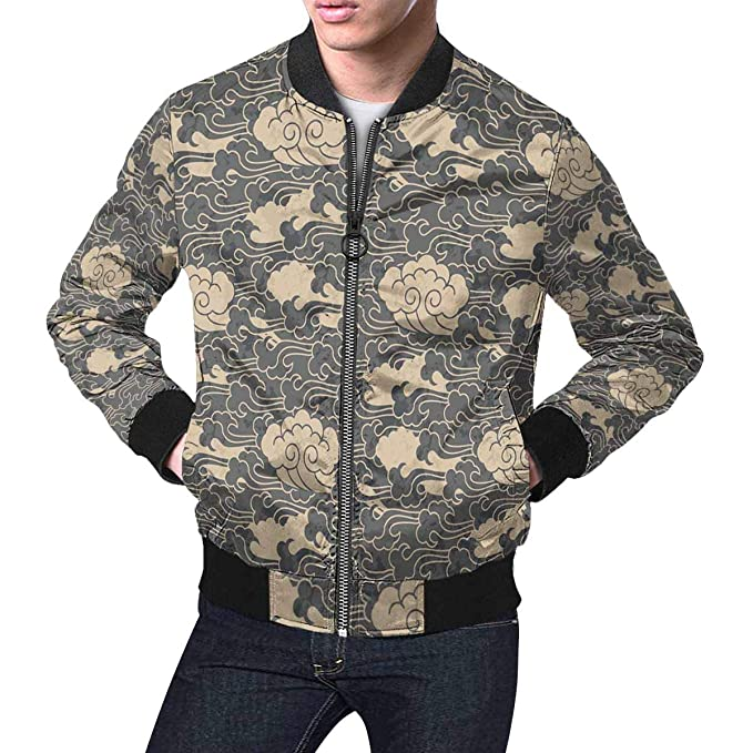 Amazon.com: InterestPrint - Chaqueta para hombre, diseño ...