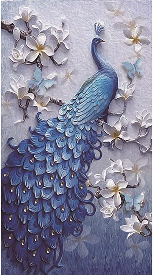 B Flowers 5D Diamond Painting Staron Clearance 5D Diamond Painting Cross Stitch Kit Home Decor Crystal Embroidery Pictures DIY Diamond Painting Kits for Adults