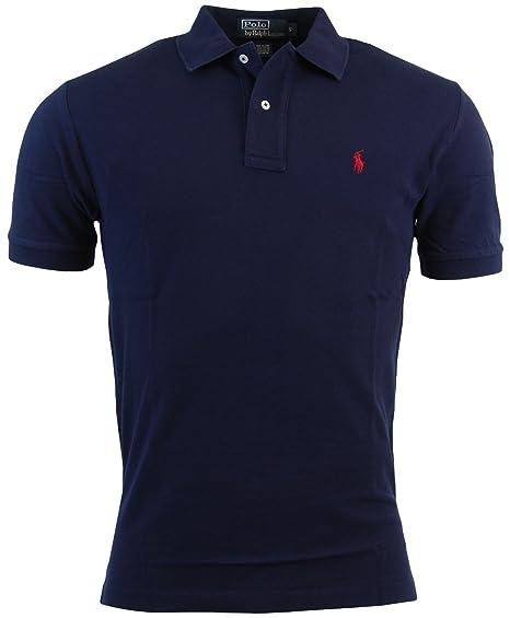17523091 Ralph Lauren Mens Classic Ss Mesh Rugby Polo Shirt: Amazon.ca ...