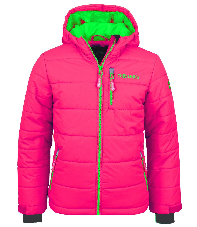 rose   vert 92 cm TrollEnfants Veste de ski enfant Hemsedal